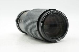 Minolta MD 70-210mm f4 Macro Lens 70-210/4 #028