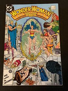 Wonder Woman #7  !! NM !!  1st Dr. Barbara Minerva (Becomes Cheetah) 1987