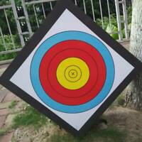 Lightweight Black High Density EVA Foam Archery Target Mat Free 2 Faces 4 Pins