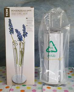 Reagenzglas-Vase von TCM - Kreativität pur für alle Jahreszeiten - NEU/OVP