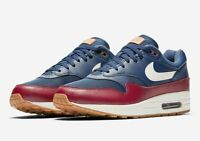 Nike Air Max 1 Navy Team Red Size 11 AH8145-400 100% Authentic
