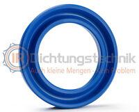Nutring Kolben- Stangendichtung 25,0 x 33,0 x 6,0 mm PU symmetrisch(1 St.)