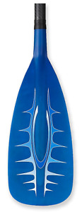 Carbon/Glass Paddle - Blue - Stand Up Paddle - Chinook