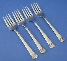 Cambridge Silver Codie 4 Salad Forks Stainless Steel