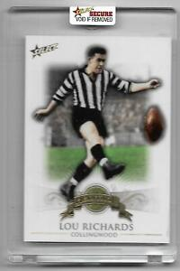 2011 Select Heritage (H2) Lou RICHARDS Collingwood 044/500