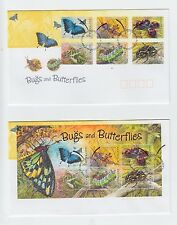Australia 2003 Bugs and Butterflies Set of 3 FDC (Canberra, ACT)