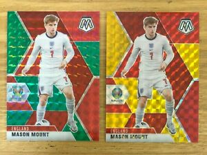 2020 MOSAIC EURO MASON MOUNT RED GOLD /88 RED GREEN TMALL ASIA SP ENGLAND