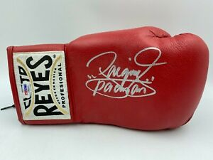 """Manny """"Pacman"""" Pacquiao Signed Boxing Glove Autograph AUTO PSA/DNA Sticker Only"""