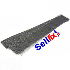 ABRASIVE PLUMBERS MINI CLEANING STRIPS.. 225mm x 38mm economy packs