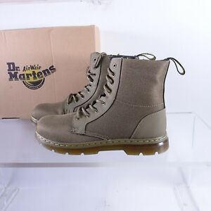 Size 7 Women's / 6Y Youth Dr. Martens Combs Extra Tough Side Zipper Boots Olive