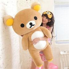 Large Huge Teddy Rilakkuma Relax Bear soft Plush Stuffed dolls Birthday gift