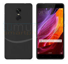 FUNDA de GEL TPU NEGRA para XIAOMI REDMI NOTE 4X / 4 VERSION GLOBAL case