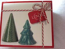 Lenox  Balsam Lane Christmas Tree Salt & Pepper New In Box