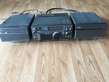 ICOM IC-735 HF TRANSCEIVER -ALL BAND- STATION - POWER SUPPLY ANTENNA TUNER HAM