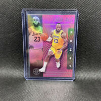 Lebron James Los Angeles Lakers 2019-20 Illusions Pink SSP #20 Finals MVP Champ