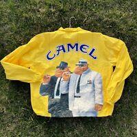 Vintage 90s Joe Camel Blues Brothers Spoof Tyvek Windbreaker
