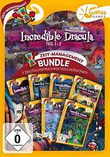 Incredible Dracula 1-7 Zeitmanagement Sunrise Games PC Spiel  Neu & OVP