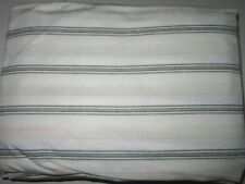 Chaps Ralph Lauren 100% Cotton FULL FITTED Sheet Stripes & Diamond Multi NWOP