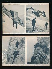 Mountaineering France DAUPHINE Massif du Pelvoux 2 c1900/20s? PPCs sport