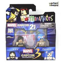 Marvel vs Capcom 3 Minimates Wave 3 X-23 vs Felicia