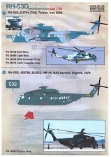 Print Scale Decals 1/48 Sikorsky Rh-53D Sea Stallion Helicopter