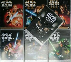 Star Wars Episodes I II III IV V VI + Bonus Lot De 7 Dvd