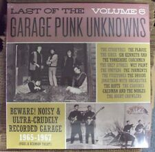 LAST OF THE GARAGE PUNK UNKNOWNS VOL. 6 comp. LP SEALED Crypt gatefold-cover