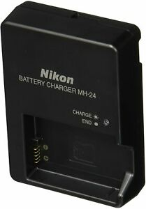 Nikon MH-24 Charger for EN-EL14 Li-ion Battery D5500 D3400 D3300 D3200 P7000