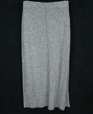 Ann Taylor Skirt Full Length Womens Size XL Gray Heathered CLASSY MODEST & SOFT!