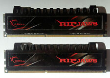 Two Pieces G.SKILL RIPJAWS 2X4GB F3-10666CL7D-8GBRH DDR3-1333 Memory for Desktop