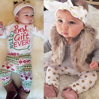 4pcs Recién Nacido Bebé Niño Niña Trajes Ropa Pelele Tops +