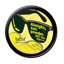 Belif Almighty Sun Powder SPF50 (Sunglasses for your skin with soft dryness)