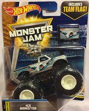 Hot Wheels Monster Jam Ice Monster 1:64 Scale Monster Truck New 2016