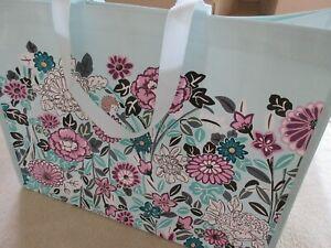 Vera Bradley Market Tote Reusable Bag Penelope's Garden Print New With Tag