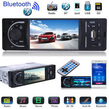"4.1"" Single 1DIN Car FM Stereo Radio MP5 Player Touch Screen Bluetooth + Camera"