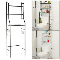 Metal Over Toilet Storage Unit Metal Racks Bath Towel Rail Rack Home Shelf Tray