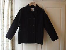 New Women's Margaret Howell MHL Black Moleskin Jacket 100% Cotton Small Sample