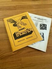 Phoenix Video Arcade Game Service Manual, Centuri 1980