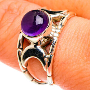 Amethyst 925 Sterling Silver Ring Size 9 Ana Co Jewelry R77238F