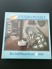 """NEW Bits & Pieces 1000 Piece Jigsaw Puzzle """"Forest of Quilts"""""""