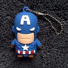1 Captain America Novelty 32GB USB Pen Drive, USB Flash Drive Memory Stick