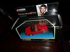 1995 Corgi Classics #92978 Mint Red Ferrari 355 Golden Eye James Bond 007 ex Box