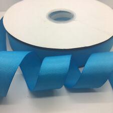 """5 yards 1""""(25mm) Width Grosgrain Ribbon Wedding Hair Bow DIY Sewing Crafts #11"""