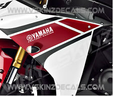 Yamaha Factory Racing FR Premium Decals Stickers R1 R6 600 750 1000 YZF 200mm
