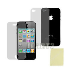12pcs = 6X (Front + Back) Screen Cover Shield Protector Film for iPhone 4 4G 4S