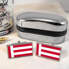 Eindhoven Flag Mens Gift Cufflinks Netherlands