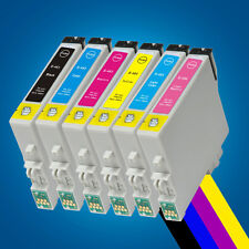 6 Ink Cartridge Replace for Epson RX500 RX600 RX620 RX640 R220 R300 Printer 2