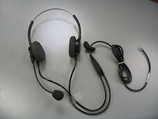 P62N Supra Binaural Polaris Headset for Aastra Polycom Nortel NEC Aspire Avaya