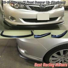 CS Style Front Bumper Lip (Urethane) Fits 08-10 Subaru Impreza WRX