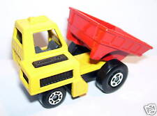 OLD LESNEY MATCHBOX SUPERFAST SITE DUMPER JAUNE ENGLAND